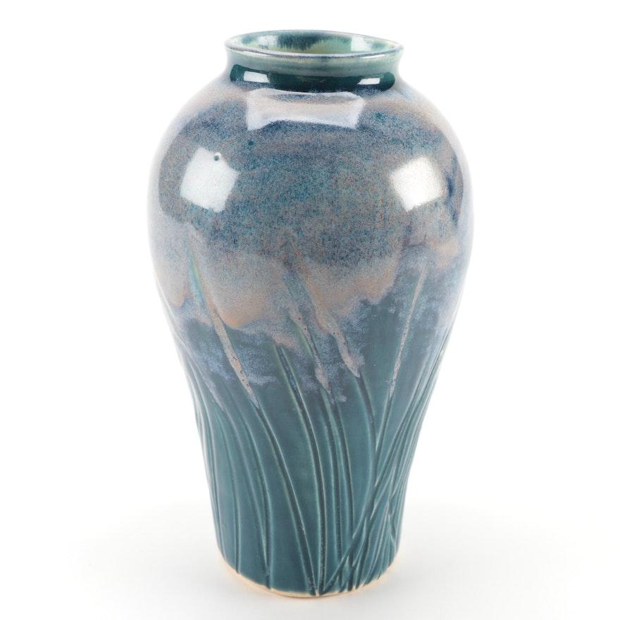 Ceramic Textured Vase