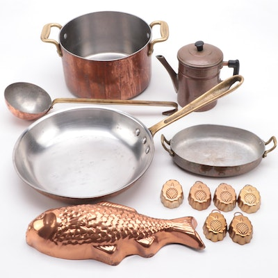 Cop-R-Chef Skillet with Other Cookware and Molds