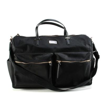 Kate Spade Carmella Wilson Road Bag in Black Nylon