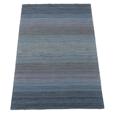 4' x 6'1 Handwoven Indian Gabbeh Rug