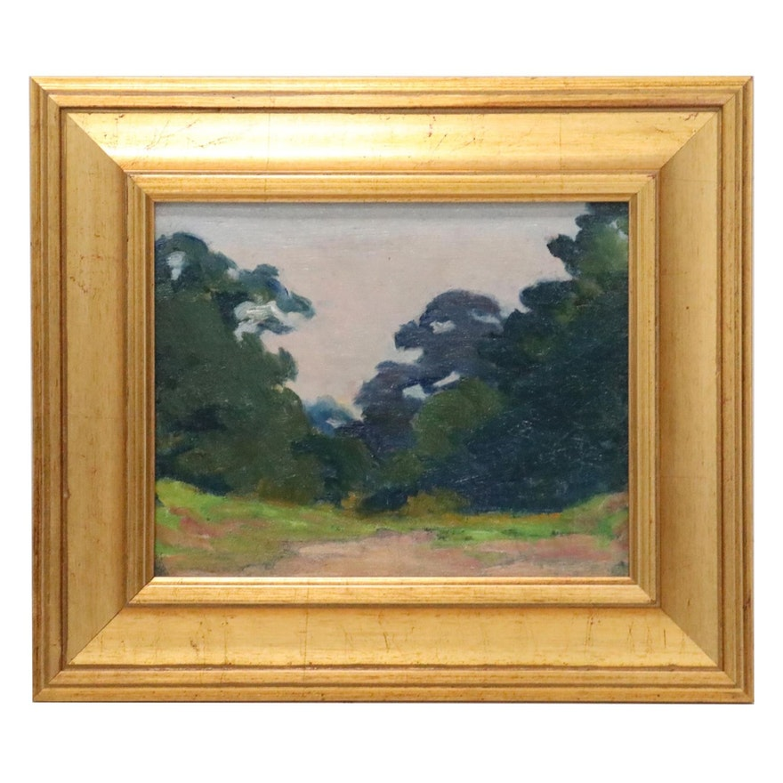 Emma Mendenhall Landscape Oil Painting