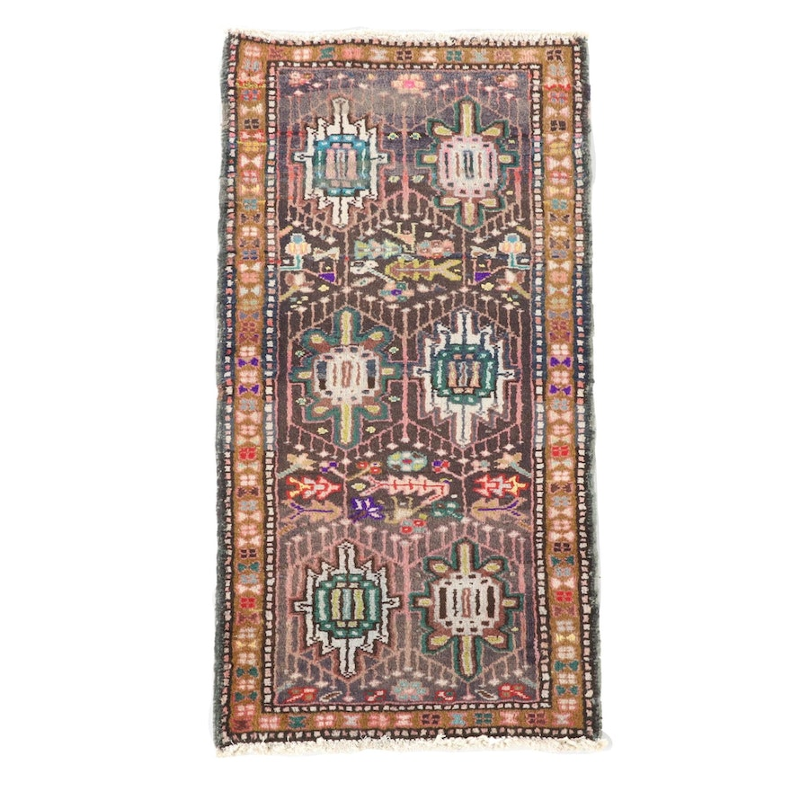 1'9 x 3'9 Hand-Knotted Northwest Persian Wool Accent Rug