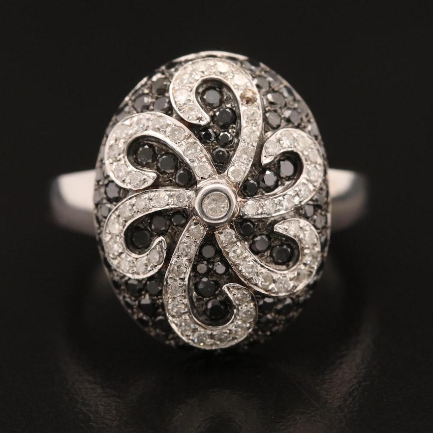 14K 1.12 CTW Diamond Ring