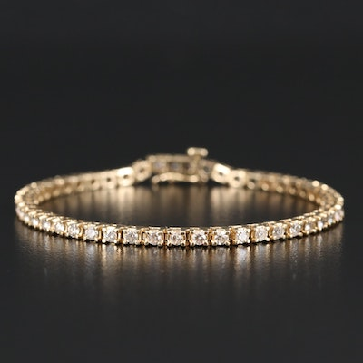 14K 2.20 CTW Diamond Tennis Bracelet