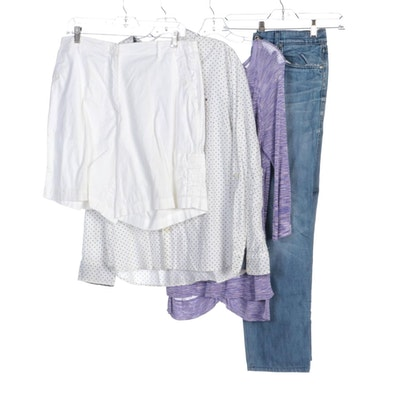 Tommy Hilfiger, Adrienne Vittadini, 7 For All Mankind and Other Separates