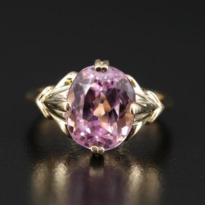 14K Kunzite Ring