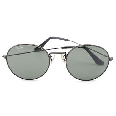 B&L Ray-Ban Round Sunglasses, Vintage