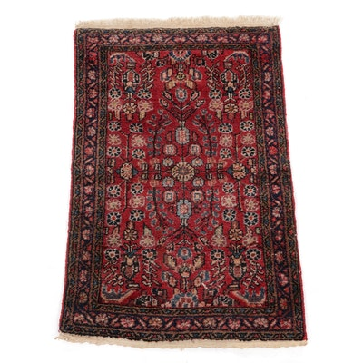 1'11 x 2'11 Hand-Knotted Persian Mehriban Floral Accent Rug