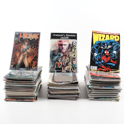 """Signed """"Witchblade,"""" """"Dahmer's Zombie Squad,"""" and More Comic Books"""