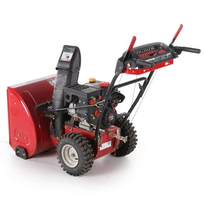 "Craftsman 24"" 179cc Electric Start Gas Snow Blower"