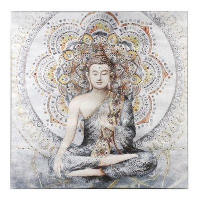 Mixed Media Giclée of Buddha, 21st Century