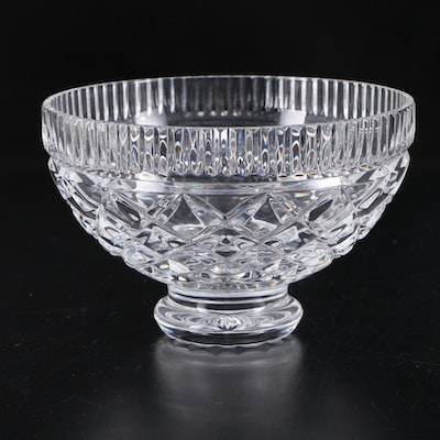 Waterford Crystal Round Footed Bowl, Late 20th Century