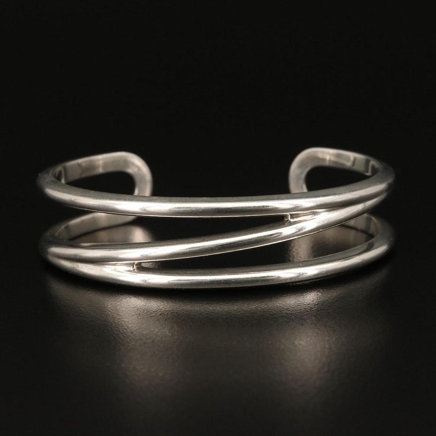 Tiffany & Co. Sterling Silver Zig Zag Cuff