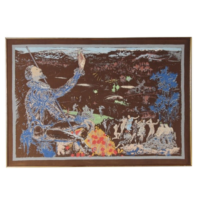 """Serigraph after Salvador Dalí """"L'Age D'Or,"""" Late 20th Century"""