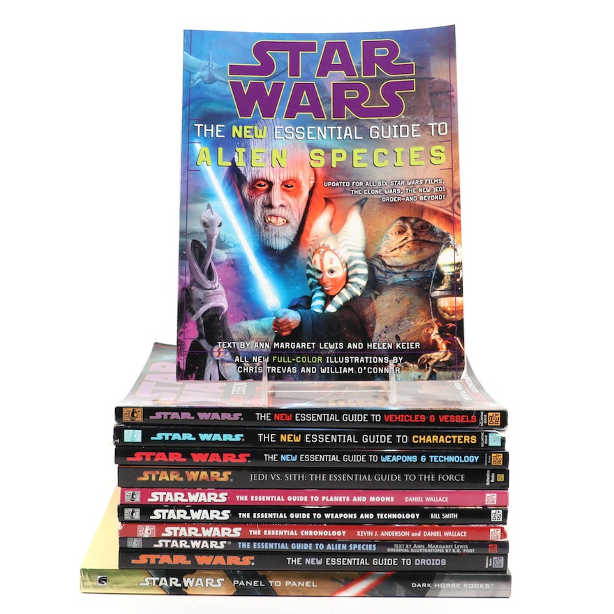 """Star Wars: Essential Guide"" Books Series and ""Panel to Panel"", Late 20th/21st C"