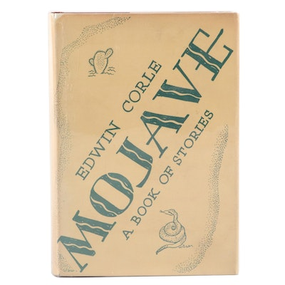 "Signed First Edition ""Mojave: A Book of Stories"" by Edwin Corle, 1934"