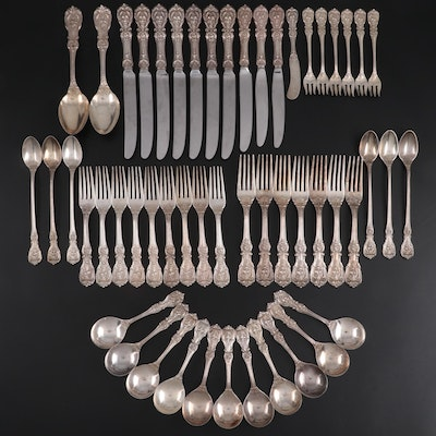 "Reed & Barton ""Francis I"" Sterling Silver Flatware, Early to Mid 20th Century"