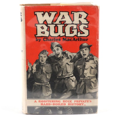 "Signed and Inscribed ""War Bugs"" by Charles MacArthur, 1929"