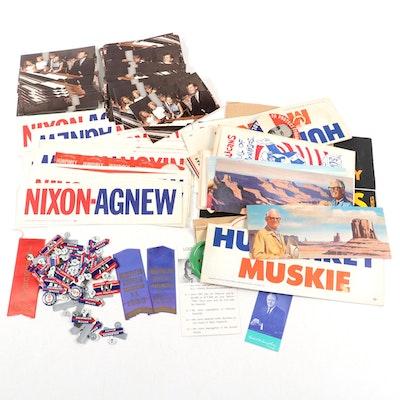 U.S. Presidential Campaign Souvenirs and Political Memorabilia, Mid-20th Century