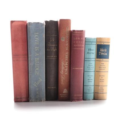 """Gideon's Trumpet"", Lorna Doone"", ""Compulsion"", Other Reading Books, Mid-20th C"