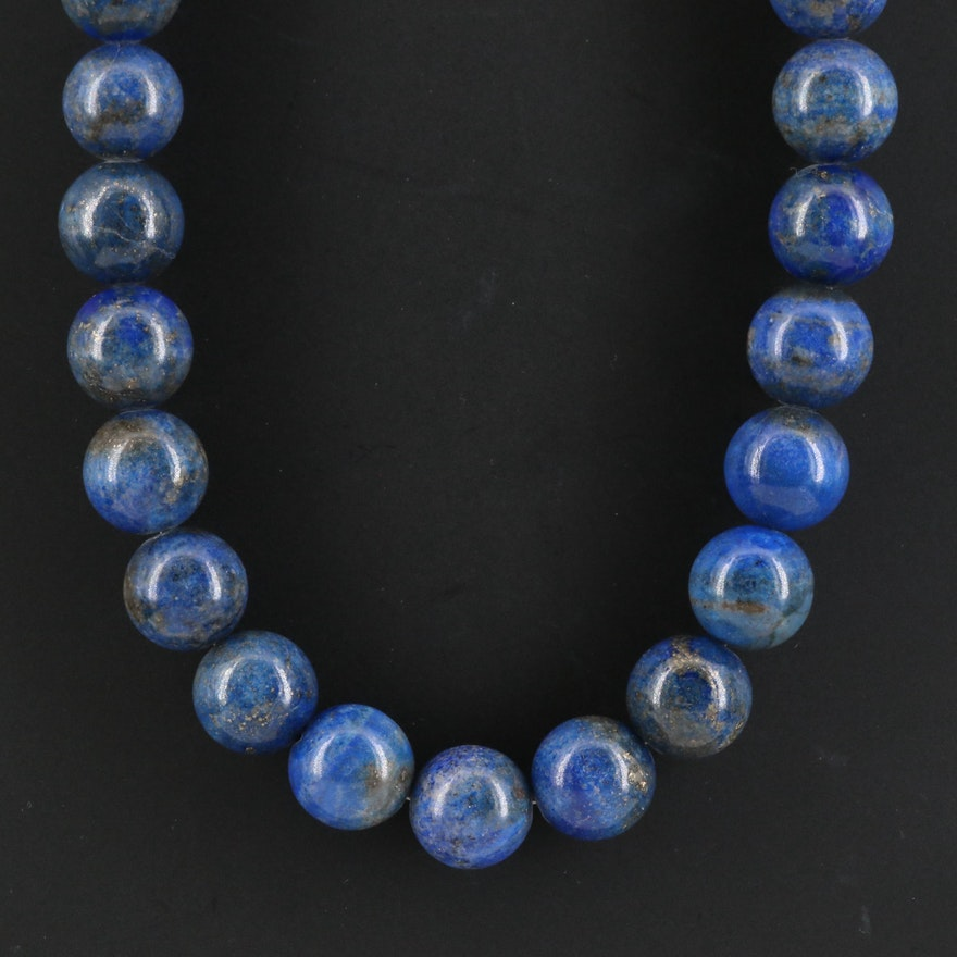 Lapis Lazuli Beaded Necklace