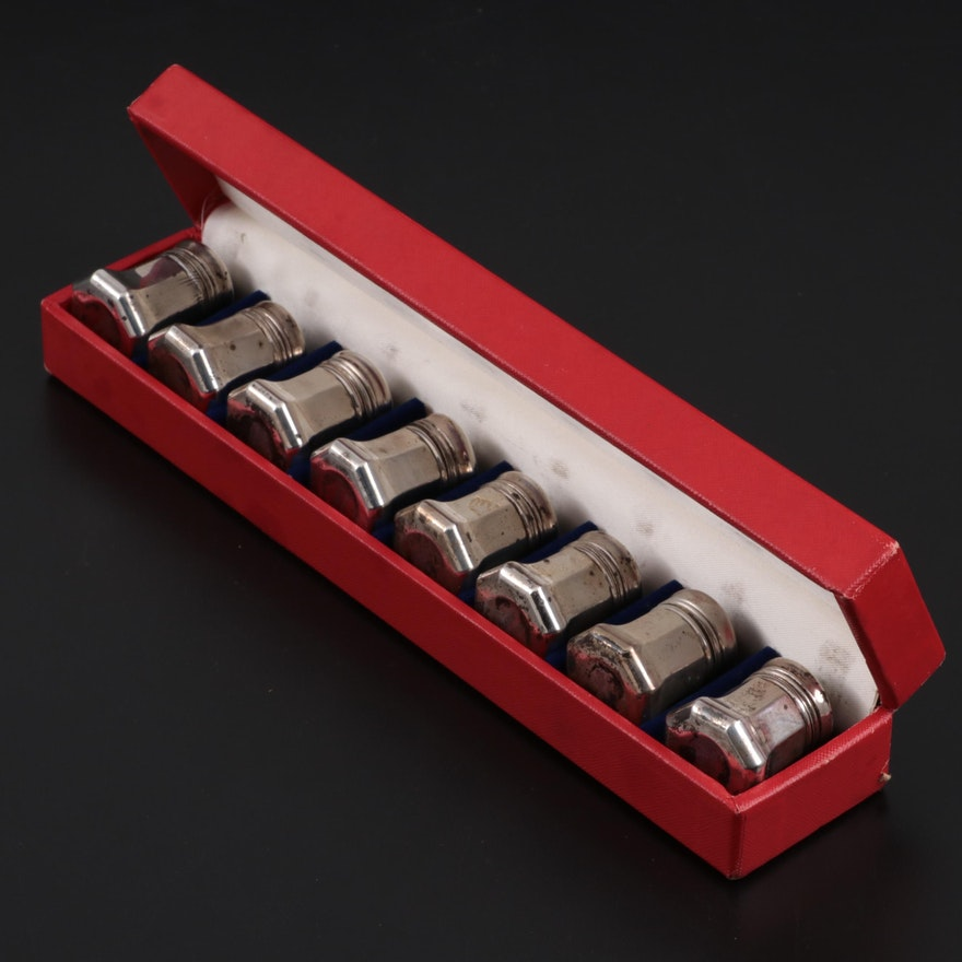 Cartier Sterling Silver Personal Shakers, Mid-20th Century