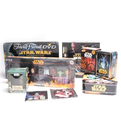 "Collection of ""Star Wars"" Toys, Games, and Memorabilia"