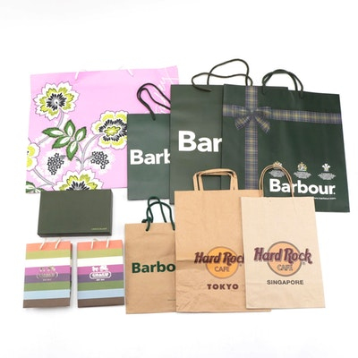 Barbour, Coach, Vera Bradley, Longchamp and More Retail Bags and Boxes