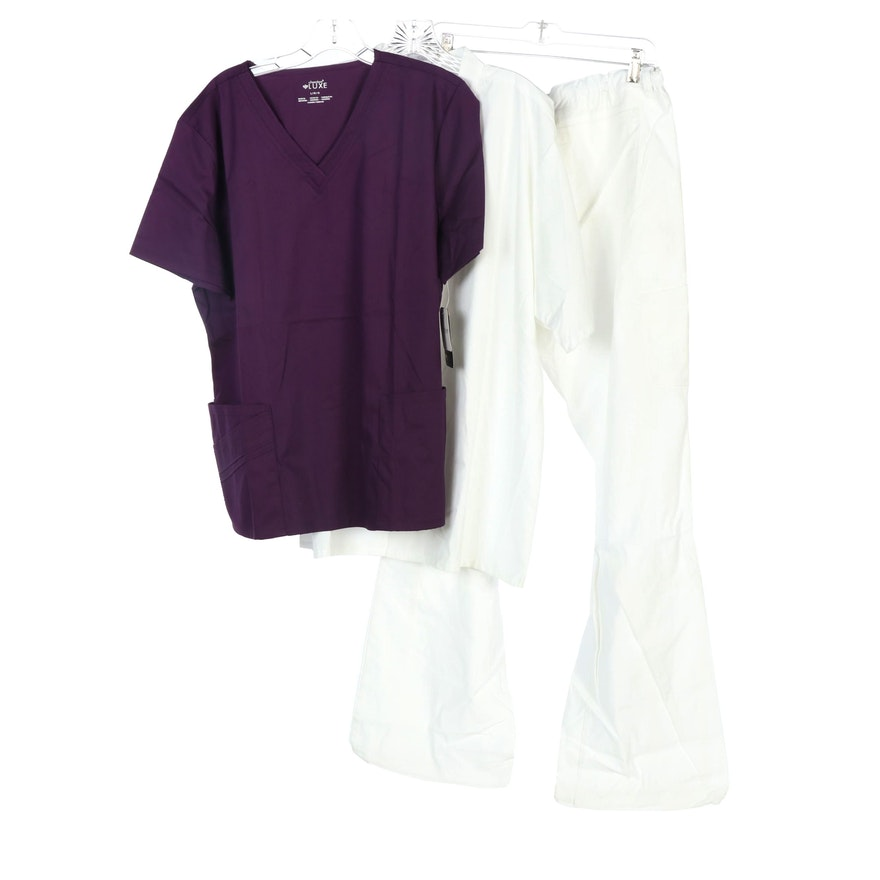 Uncommon Threads, Cherokee, and Code Happy Scrubs and Shirt