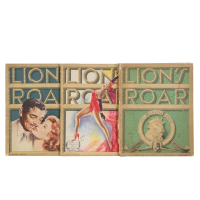 """LION'S ROAR"" Movie Periodicals, One Signed by George Cukor"