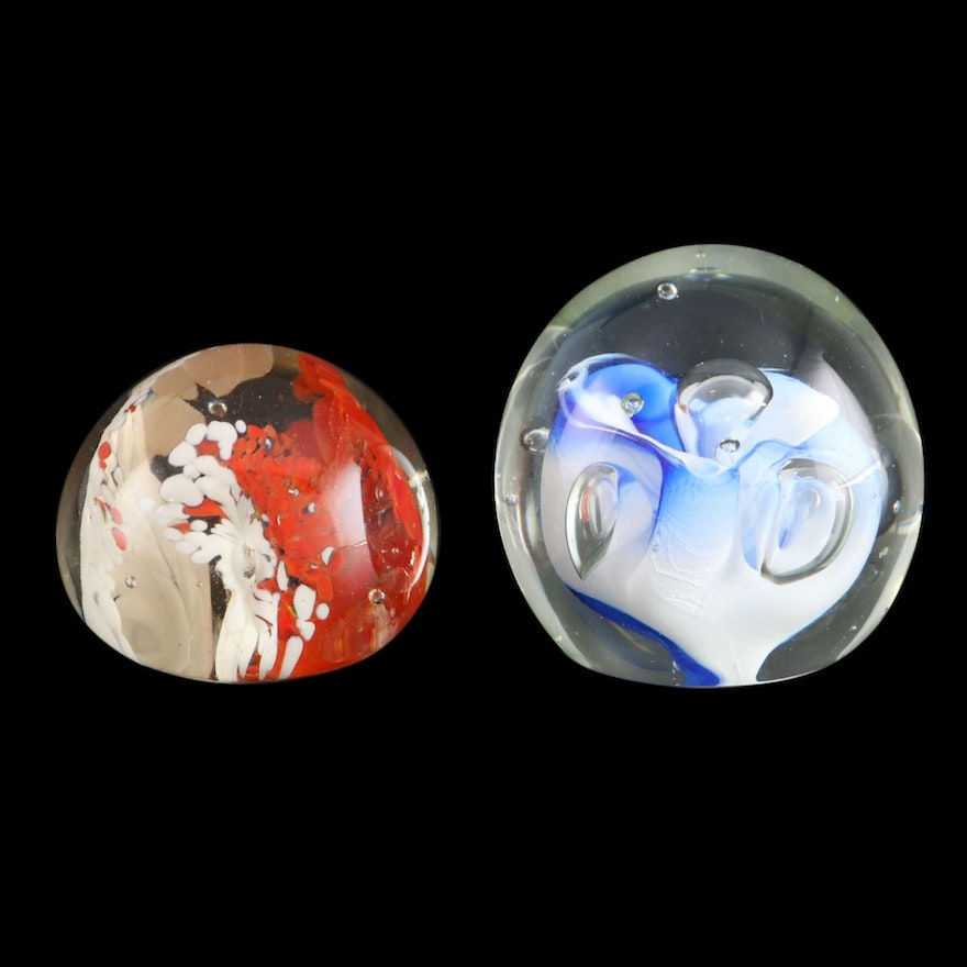 Karg and Other Art Glass Paperweights