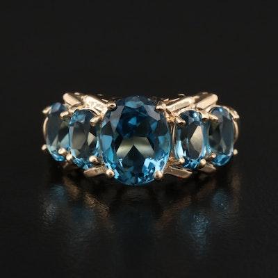 10K Topaz Ring