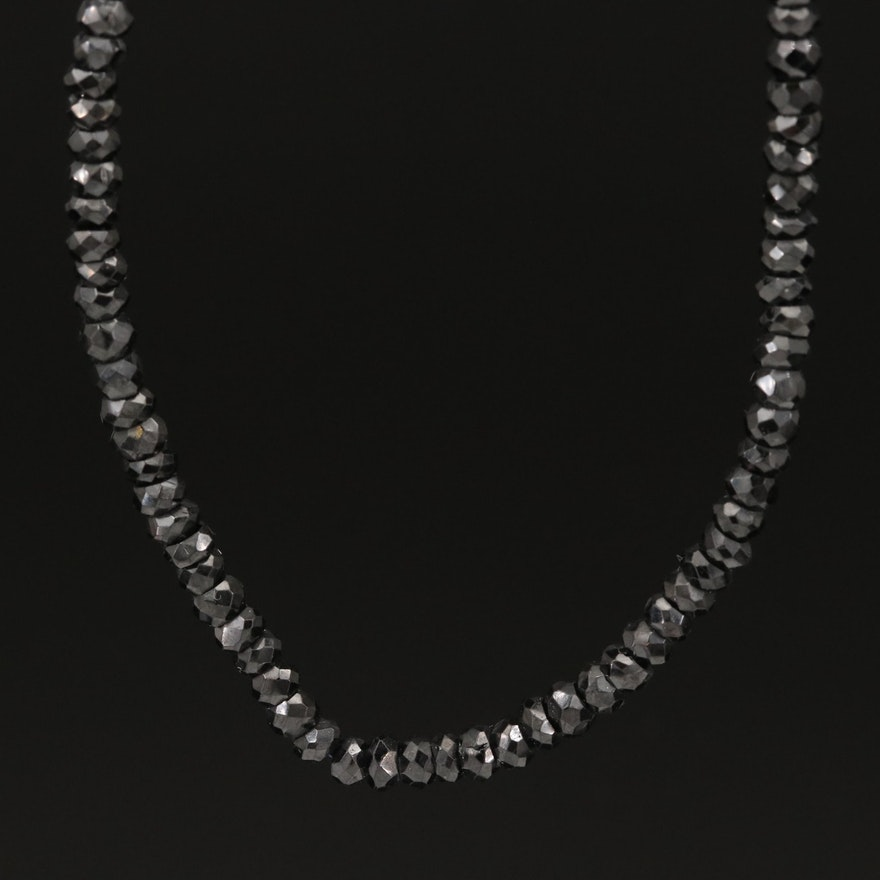 14K Spinel Beaded Necklace