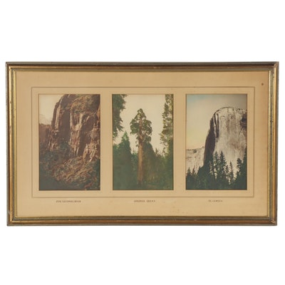 Giclée of National Park Landscapes, Late 20th Century
