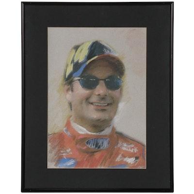 Giclée after Haiyan of NASCAR Driver Jeff Gordon Portrait