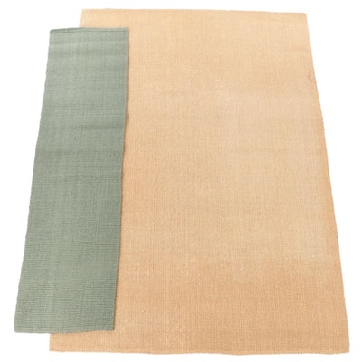 "6'0 x 8'11 Maison ""Buckingham"" Natural Jute Area Rug with Runner"