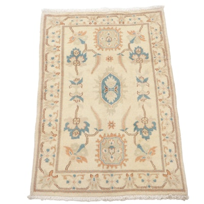 3'4 x 5'1 Hand-Knotted Persian Tabriz Accent Rug, 2000s