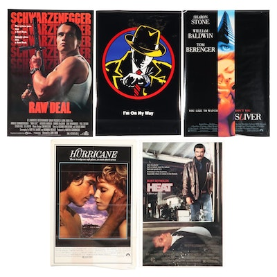 Action and Thriller One-Sheet Theatrical Release Movie Posters