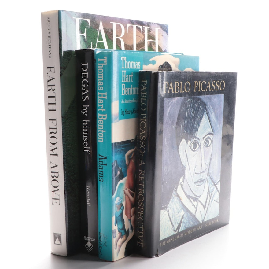 """Pablo Picasso: A Retrospective"" by William Rubin and More Art Reference Books"