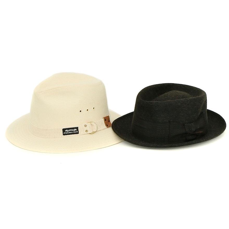 Stetson Royal de Luxe and Panama Jack Hats