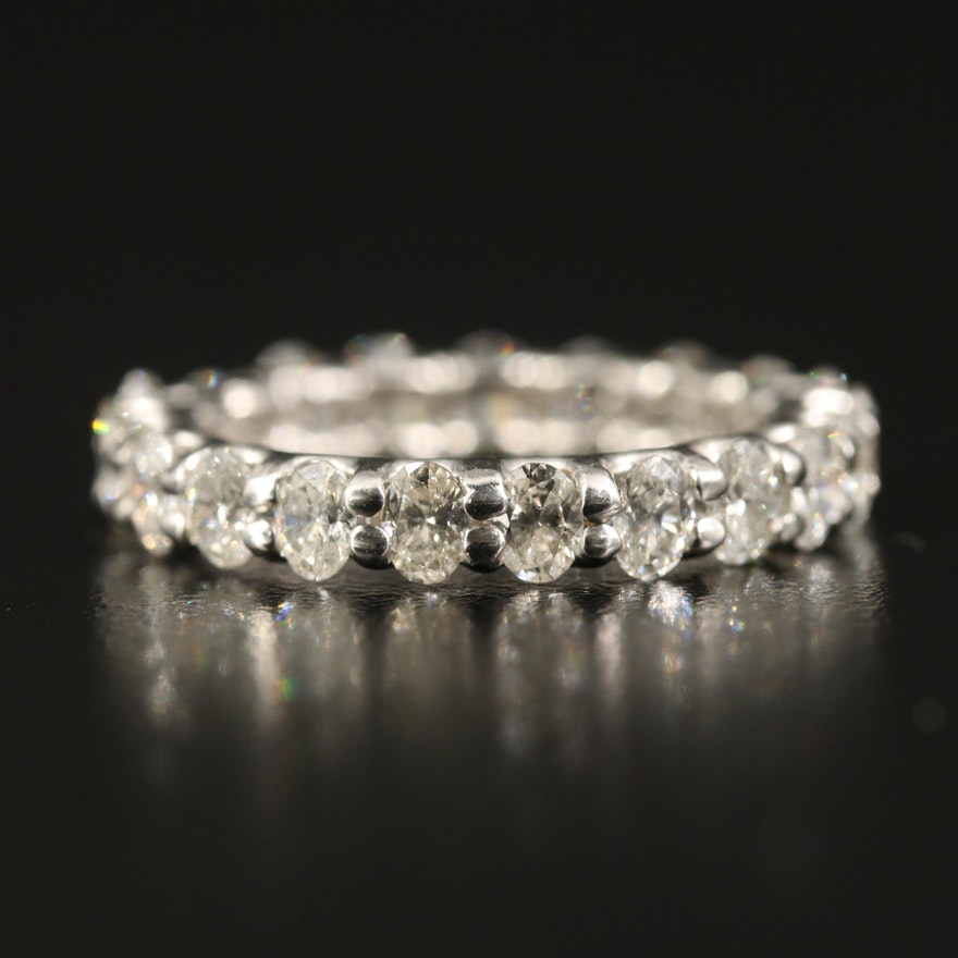 14K 1.99 CTW Diamond Eternity Ring