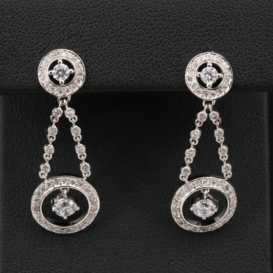 Sterling Cubic Zirconia Earrings