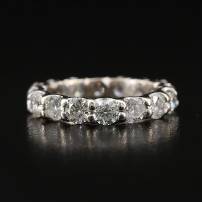 14K 2.71 CTW Diamond Eternity Band