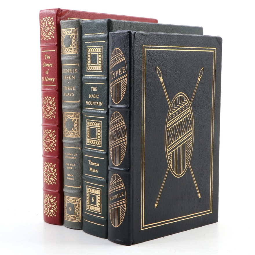 """The Magic Mountain"" by Thomas Mann and More Easton Press Edition Books"