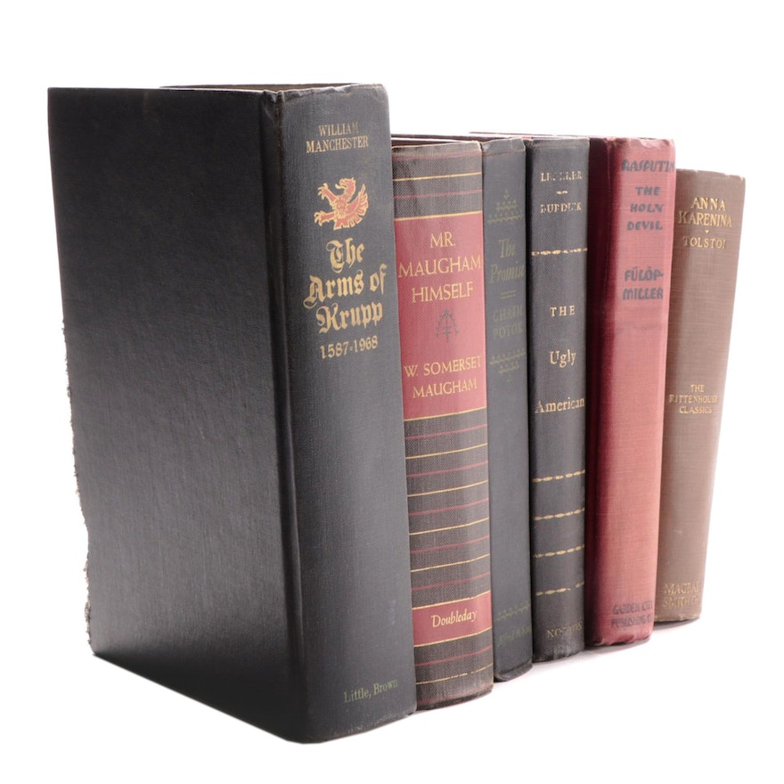 """""""The Ugly American,"""" """"Mr Maugham Himself"""", """"The Promise,"""" and Other Books"""