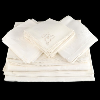 Table Linens including Tablecloths and Napkins