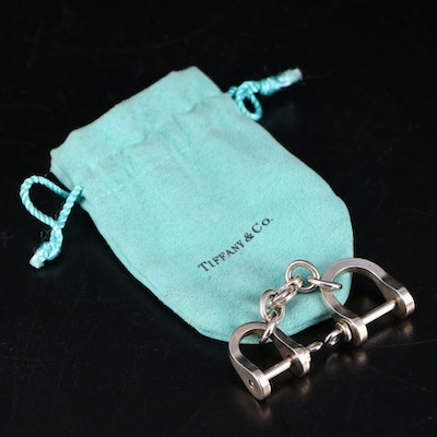 Tiffany & Co Sterling Silver Horse Bit Keychain