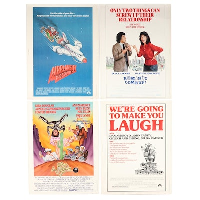 """Mocking Comedy Halftone 30"""" x 40"""" Theatrical Release Movie Posters"""
