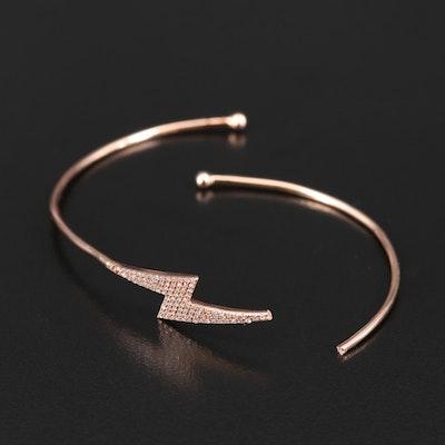 14K Diamond Scrap Bracelet