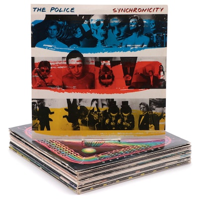 The Police, Journey, Billy Joel and Other Vinyl Records